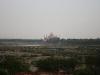 Vue du Taj Mahal depuis le red fort