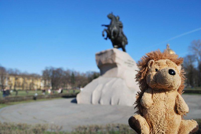 Saint Petersbourg - Statue de Pierre le Grand